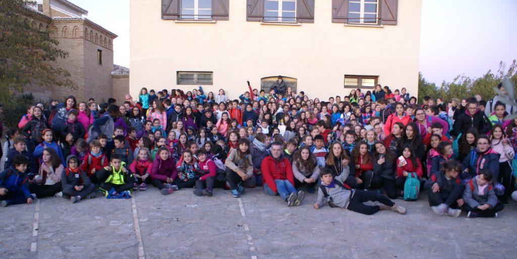 Foto de grupo, Narnia en las Bardenas Reales